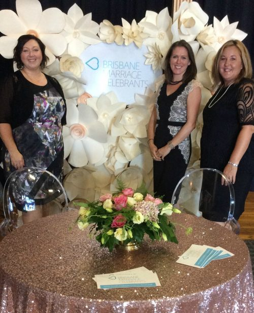 Wedding expos with Brisbane Marriage Celebrants