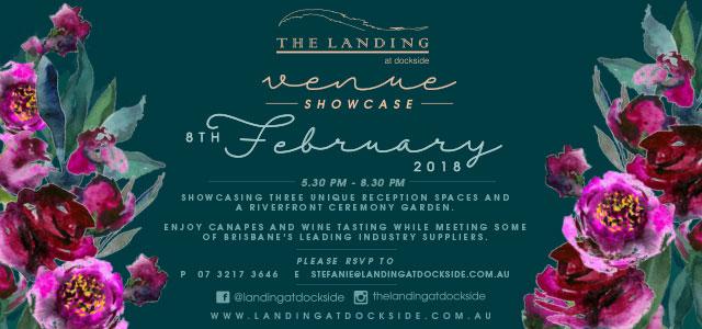Landing at Dockside Wedding Showcase with the Brisbane Marriage Celebrants